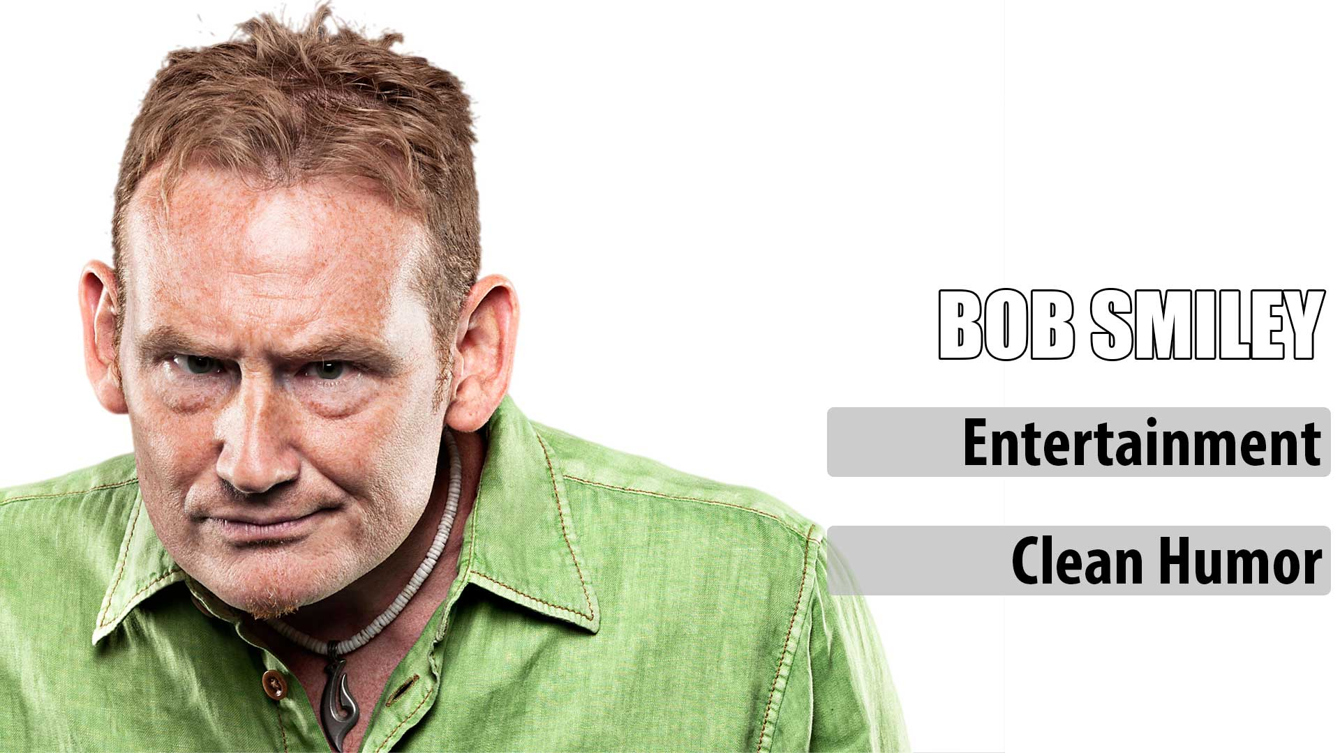 Comedian Bob Smiley
